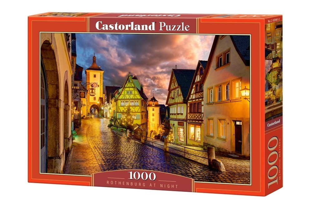 1000 EL Rothenburg nocą