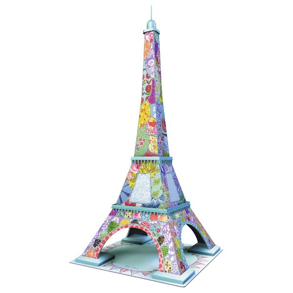 216 EL 3D Eiffel Tower Tula Moon RAVEN.