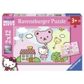 2X12 EL. HK Kitty z Balonami RAVENSBURGER