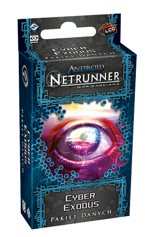 ANDROID NETRUNNER LCG PL - Cykl Genesis - CYBER EXODUS