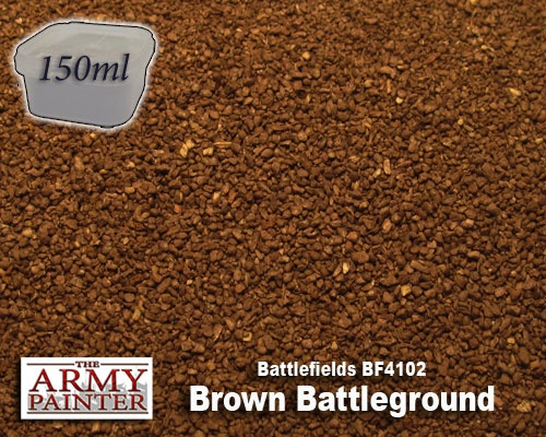 ARMY PAINTER BASING BATTLEGROUND - BROWN