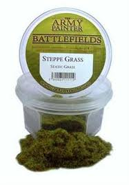ARMY PAINTER BASING STEPPE GRASS STATIC