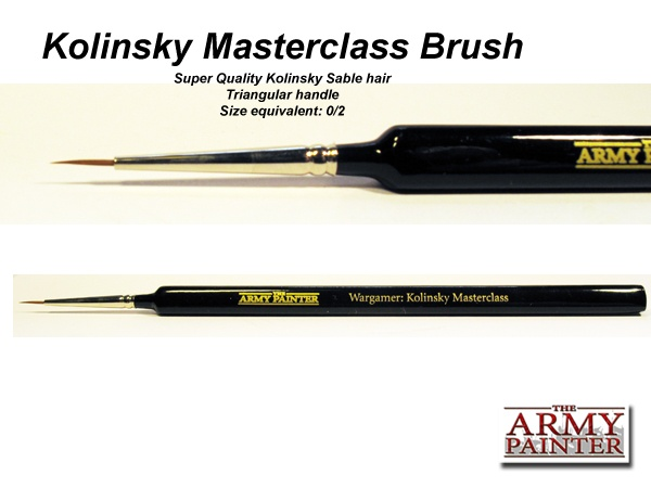 ARMY PAINTER TOOL MASTERCLASS KOLINSKY BRUSH