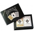 Bicycle: Prestige Gold and Silver poker decks