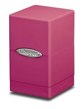 DECK BOX ULTRA PRO - PINK SATIN TOWER
