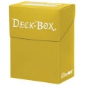 Deck Box - Yellow