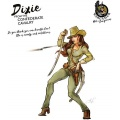 Hot & Dangerous: Dixie from the Confrederate Cavalry (54 mm)