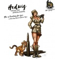 Hot & Dangerous: Hedwig from the Africa Corps (28 mm)