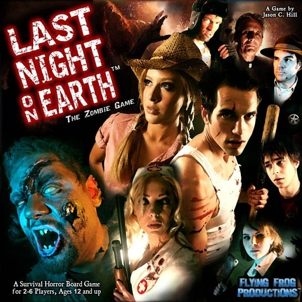 LAST NIGHT ON EARTH, THE ZOMBIE GAME