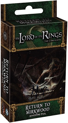 LORD OF THE RINGS -THE CARD GAME - Shadows of Mirkwood - RETURN TO MIRKWOOD