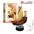Puzzle 3D Żaglowiec Chinese 62 elementy