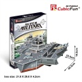 PUZZLE 3D Aircraft Carrier Charles CUBICFUN