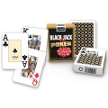 Karty 55 Lisków Black Jack Emerald