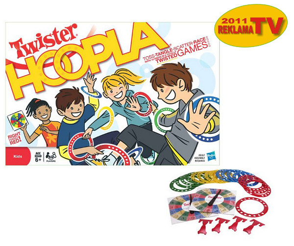 TWISTER HOOPLA HASBRO